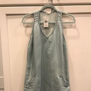 AG sleeveless denim dress